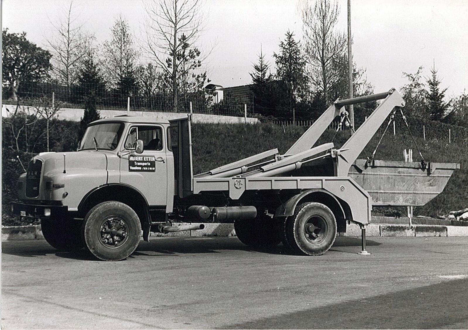Mise en service du 1er camion multibennes