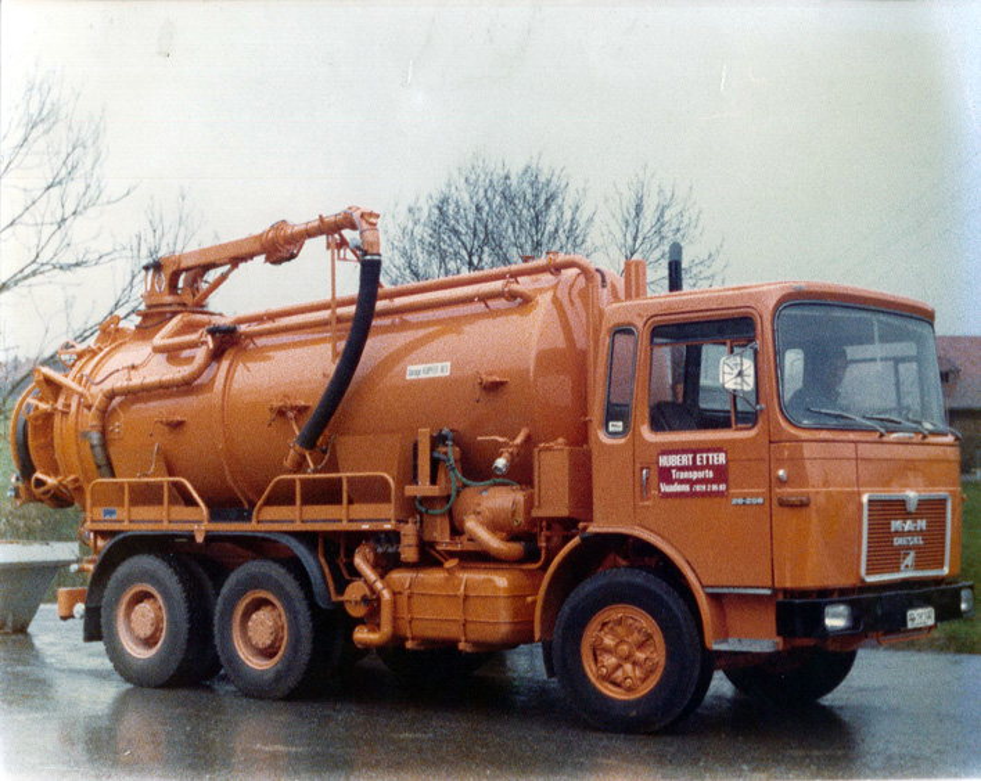 Mise en service du 1er camion hydrocureur