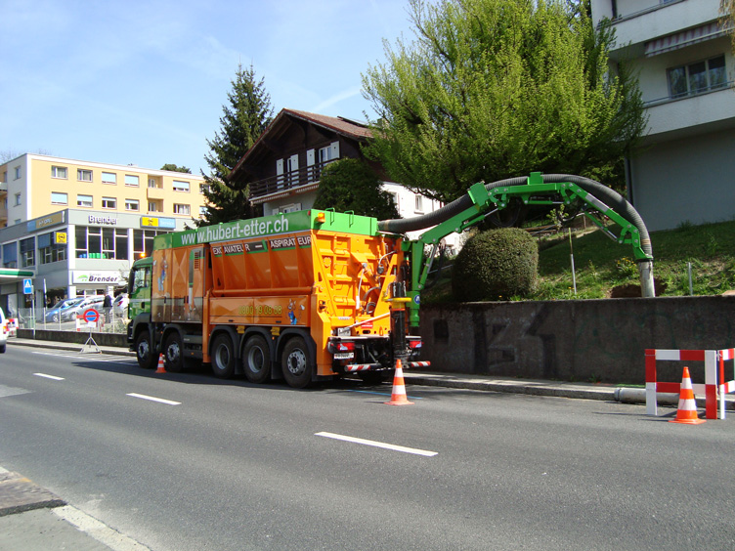 Achat d'un excavateur-aspirateur, nouveau procédé de fouille par aspiration