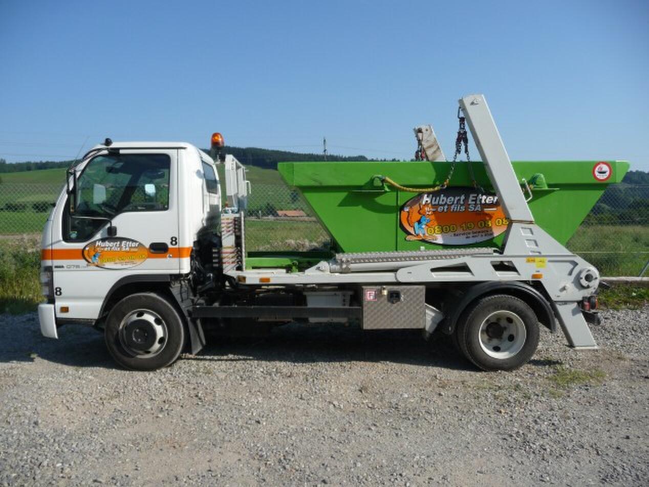 Achat d'un petit camion multibennes 7.5 t. pour accès difficiles